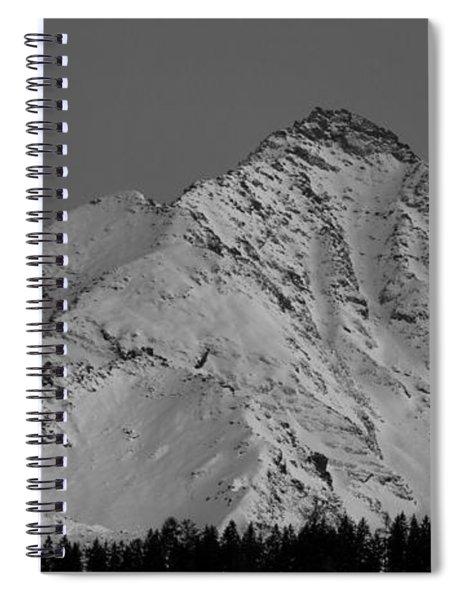Ahornspitze After Midnight Spiral Notebook