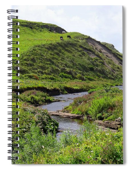 Aille River Valley Spiral Notebook