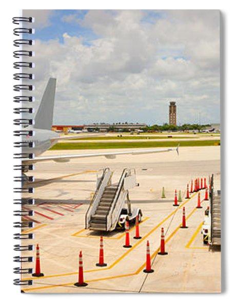 Airport, Fort Lauderdale, Florida, Usa Spiral Notebook