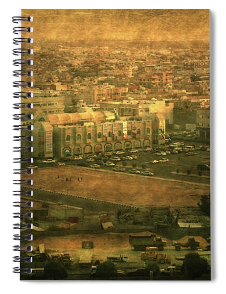 Al-khobar On Texture Spiral Notebook