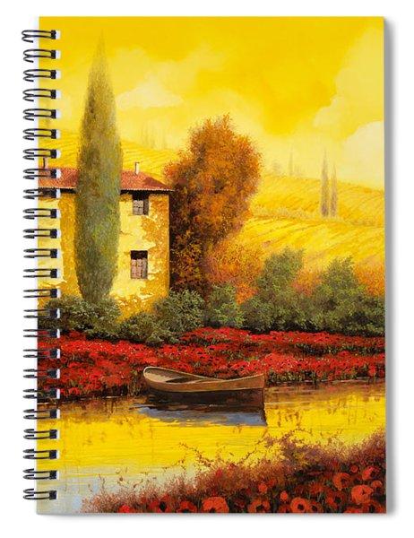 Al Tramonto Sul Fiume Spiral Notebook