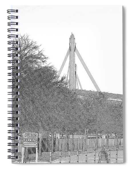 Alamo Dome Spiral Notebook