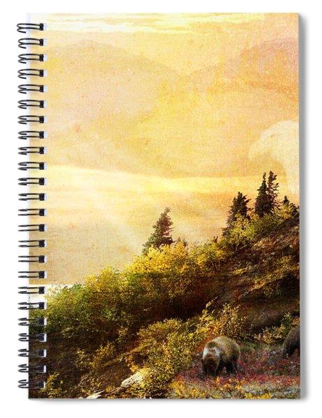 Alaska Montage Spiral Notebook
