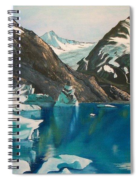 Alaska Reflections Spiral Notebook