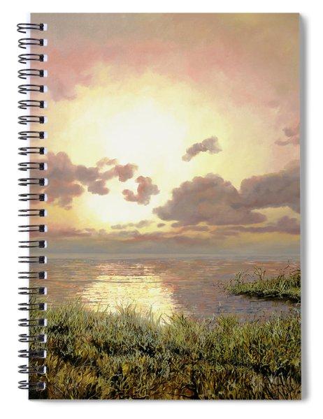 Alba Nella Palude Spiral Notebook