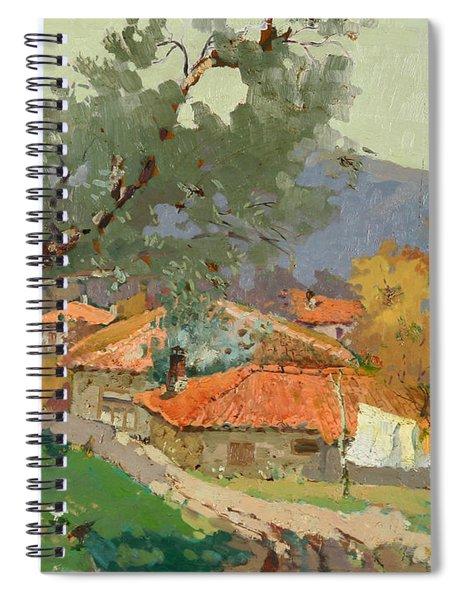 Albanian Countryside Spiral Notebook