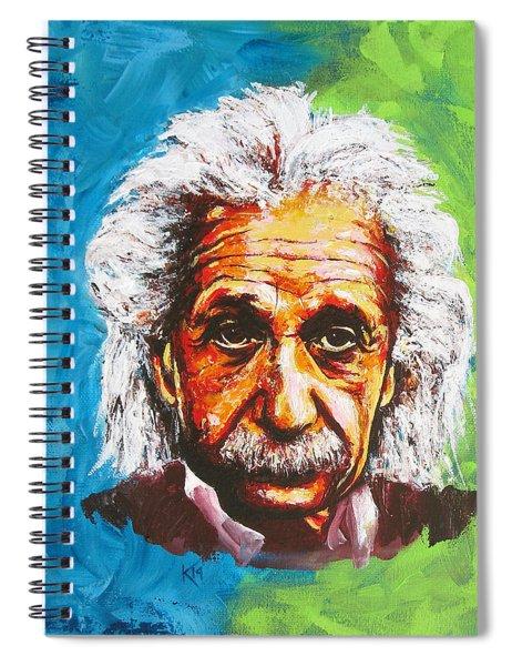 Albert Tribute Spiral Notebook