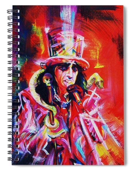 Alice Cooper. The Legend Spiral Notebook