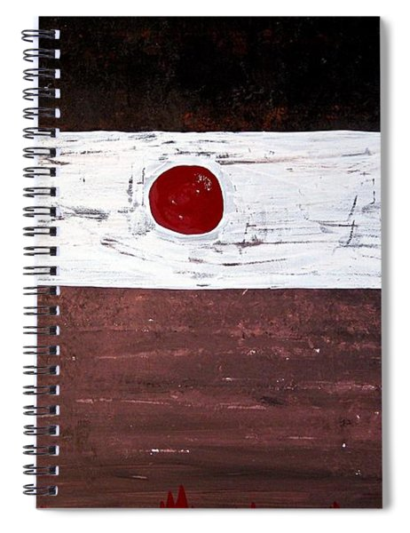 Alignment Original Painting Spiral Notebook