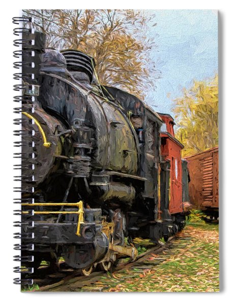 All Aboard Spiral Notebook
