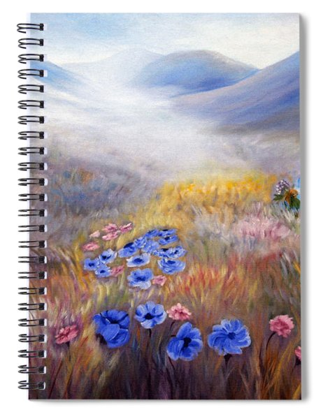 All In A Dream - Impressionism Spiral Notebook