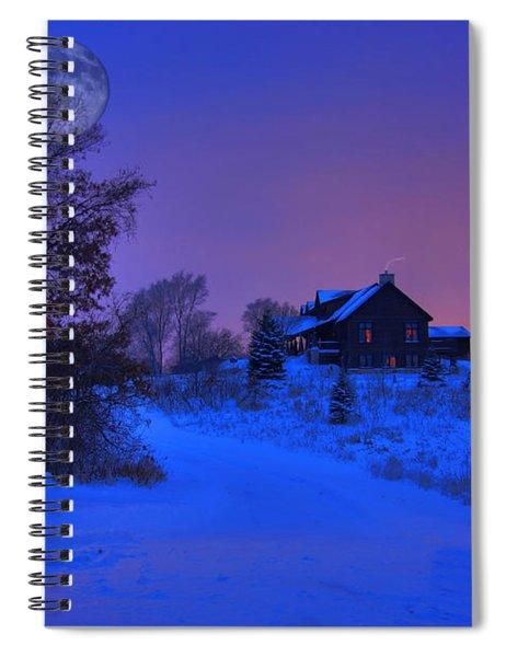 All Is Calm Spiral Notebook