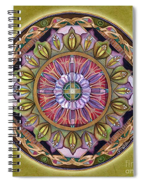 All Is Well Mandala Spiral Notebook