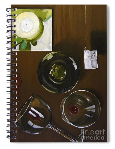 All Looked Fine From Our Perspective Spiral Notebook