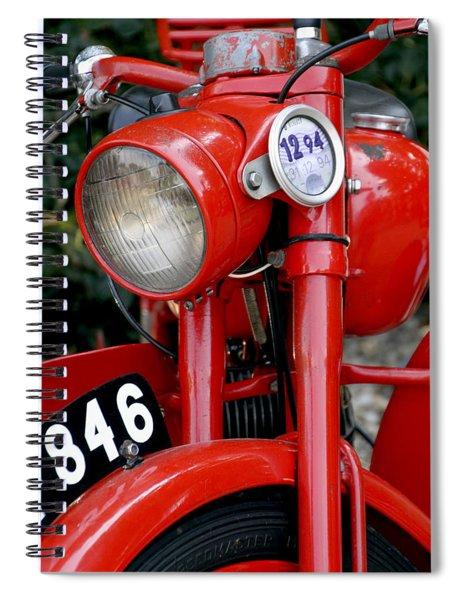 All Original English Motorcycle Spiral Notebook