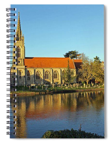 All Saints Church Marlow Spiral Notebook