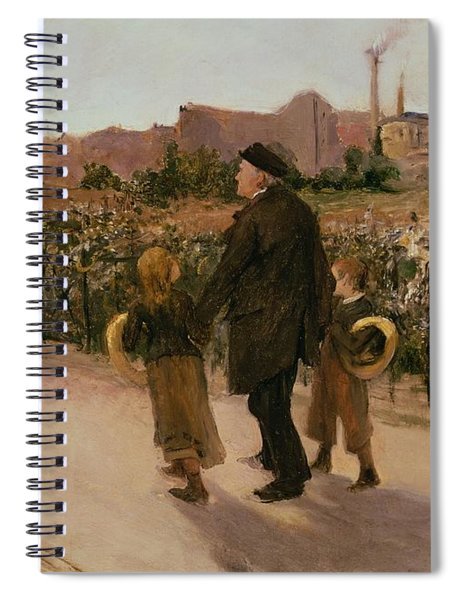 All Souls Day, C.1882 Spiral Notebook