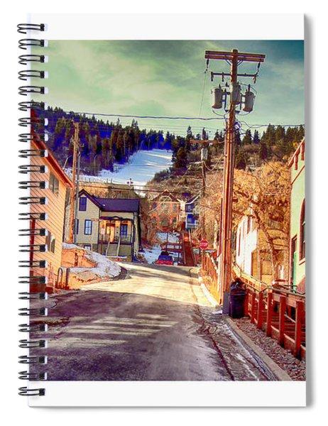 Alley In Park City Spiral Notebook