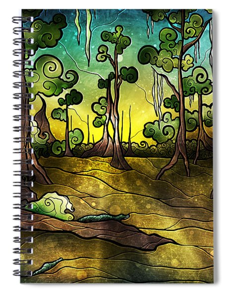 Alligator Swamp Spiral Notebook