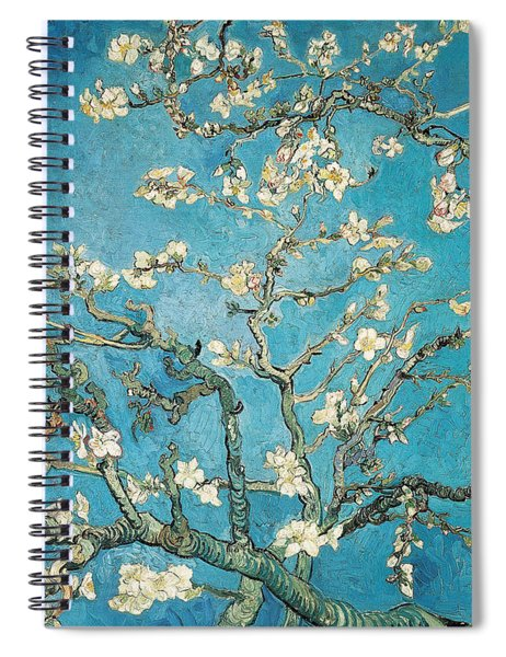 Almond Branches In Bloom Spiral Notebook