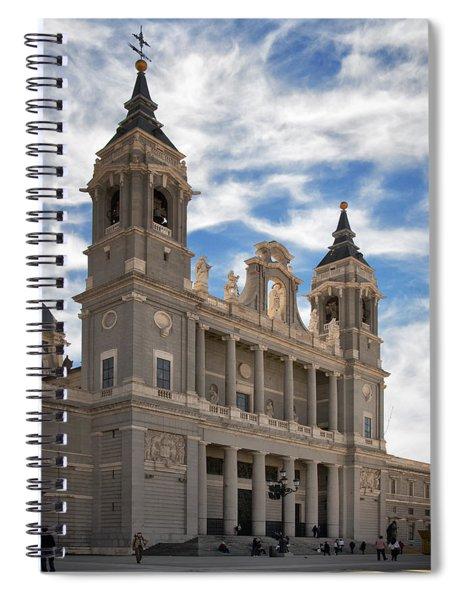 Almudena Cathedral Spiral Notebook