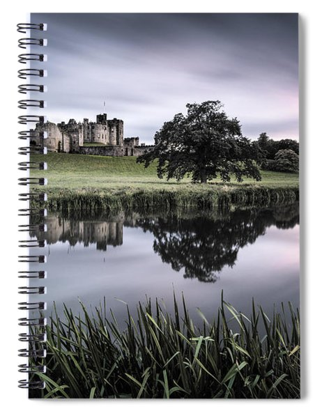 Alnwick Castle Sunset Spiral Notebook