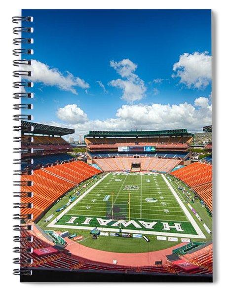 Aloha Stadium Spiral Notebook