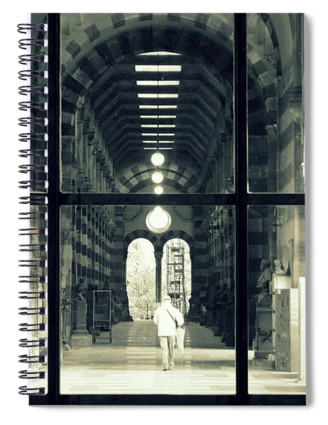 Alone At The Cemetery Spiral Notebook