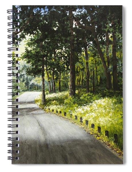 Along The Way Spiral Notebook