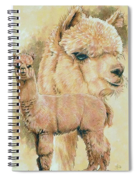 Alpaca Spiral Notebook