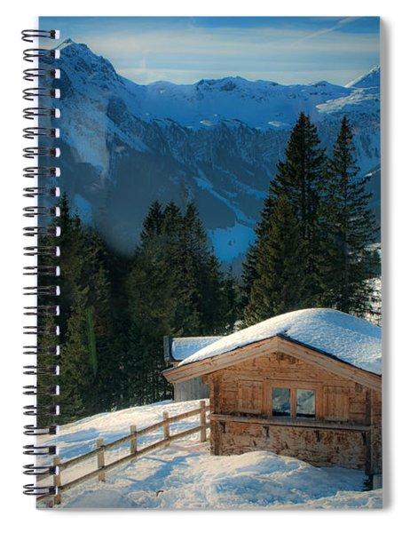 Alpine View Spiral Notebook
