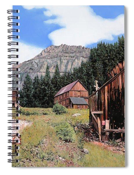 Alta In Colorado Spiral Notebook