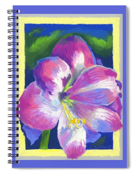 Amaryllis By Morning Spiral Notebook