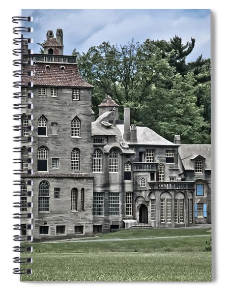 Amazing Fonthill Castle Spiral Notebook