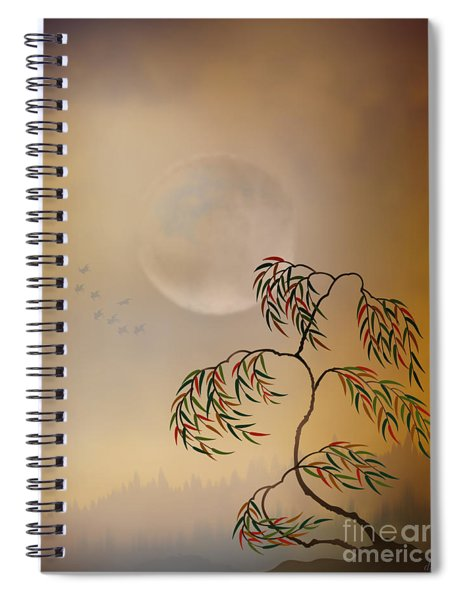 Amber Vision Spiral Notebook