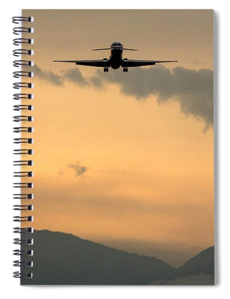 American Airlines Approach Spiral Notebook