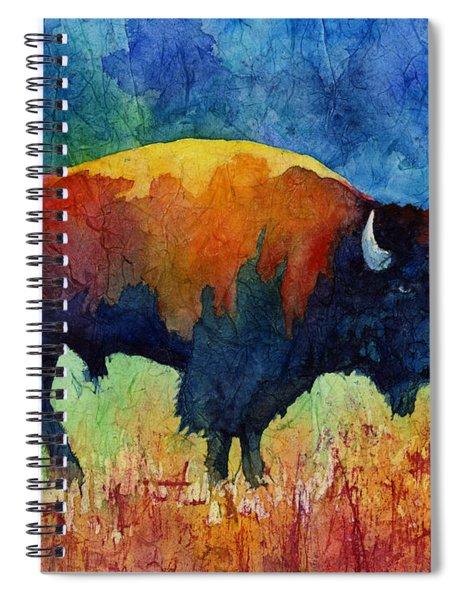 American Buffalo II Spiral Notebook