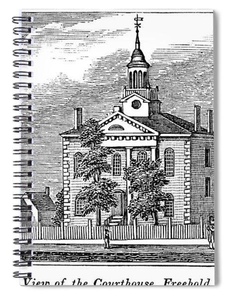 American Courthouse, 1844 Spiral Notebook