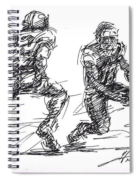 American Football 3 Spiral Notebook