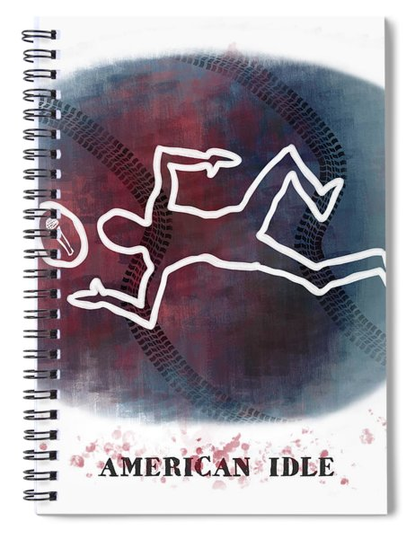 American Idle Spiral Notebook