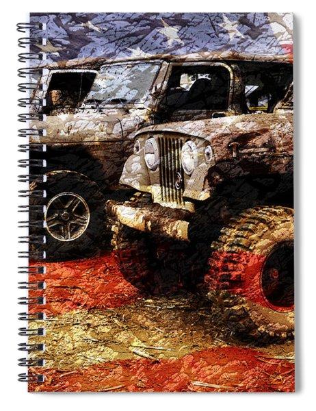 American Jeeps Spiral Notebook