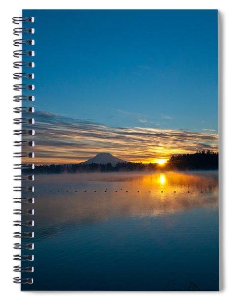 American Lake Sunrise Spiral Notebook