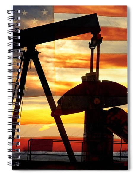 American Oil  Spiral Notebook