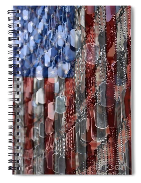 American Sacrifice Spiral Notebook