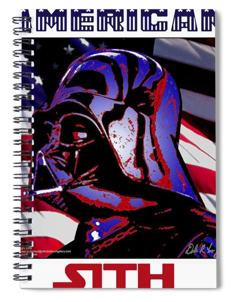 American Sith Spiral Notebook