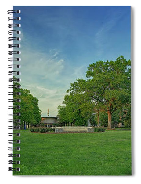 American University Quad Spiral Notebook