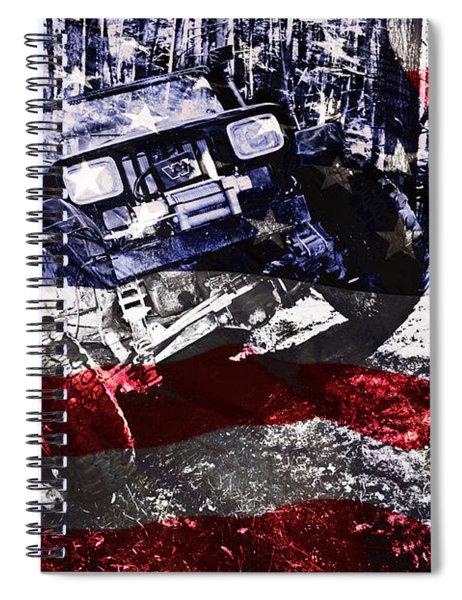 American Wrangler Spiral Notebook