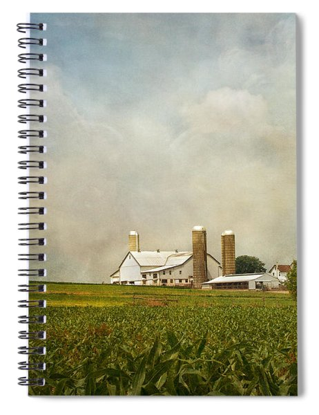 Amish Farmland Spiral Notebook