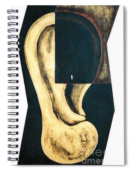 Amnesia Spiral Notebook