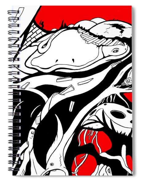 Amphibious Spiral Notebook